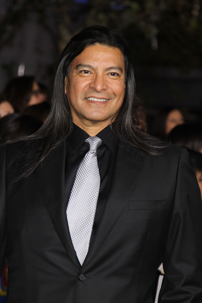 Gil Birmingham at the World Premiere of THE TWILIGHT SAGA: BREAKING DAWN - PART 2, November 12, 2012 at the Nokia Theater at L.A. Live, Los Angeles, California. Photo Credit Sue Schneider_MGP Agency